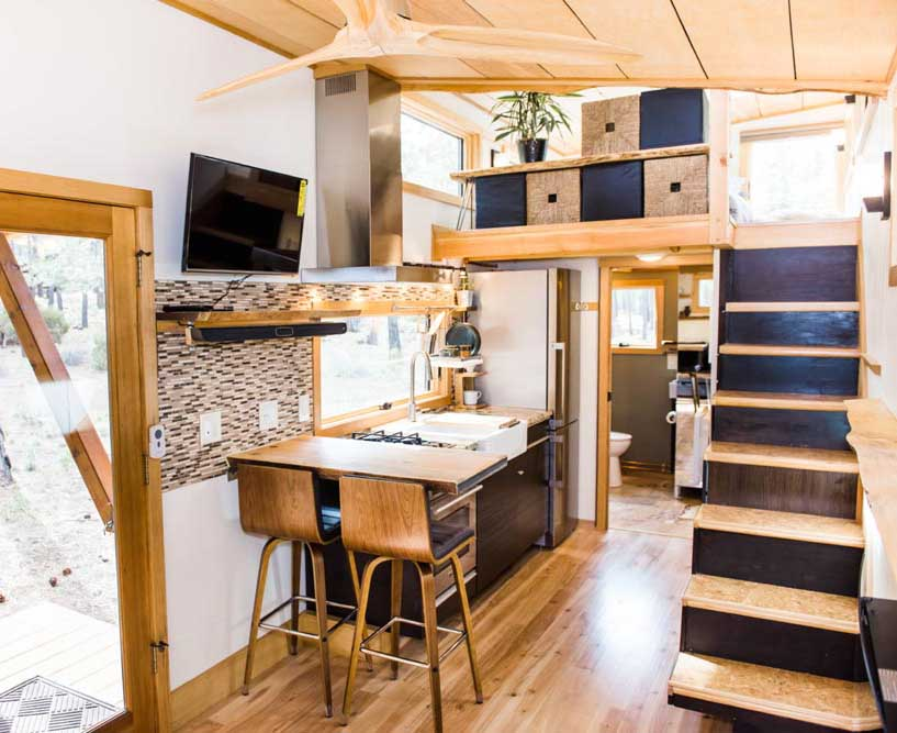 tiny houses votre mini maison en finist re archi bois. Black Bedroom Furniture Sets. Home Design Ideas