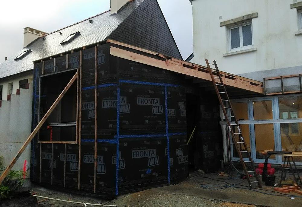 Extension d'habitation - Finistère Sud