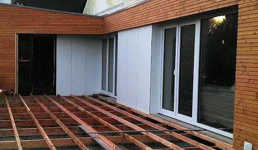 Extension en bois, Finistère