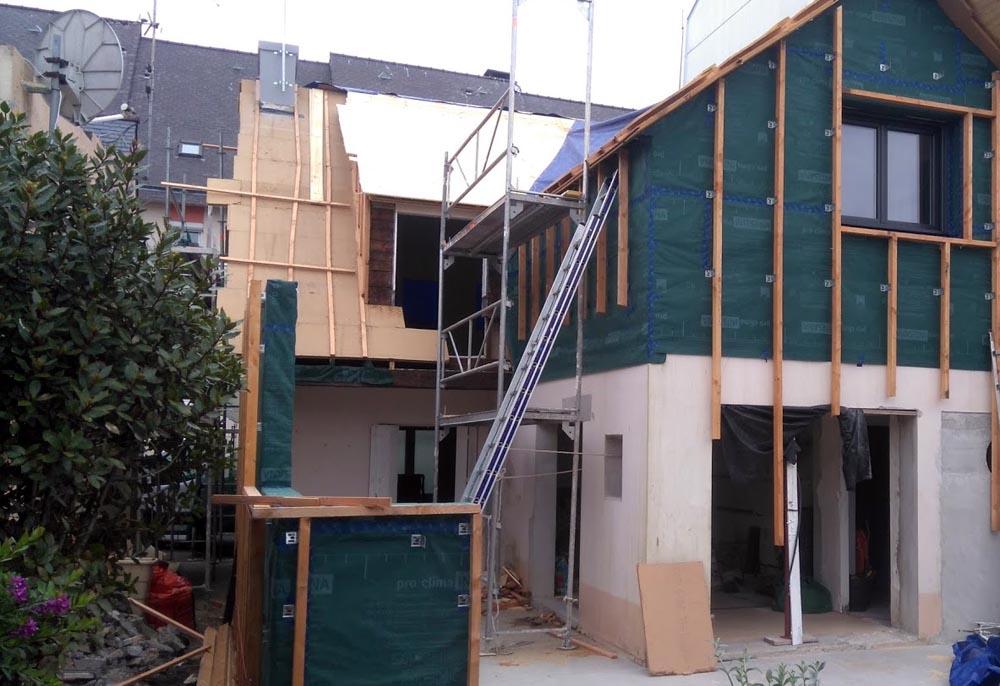 Isolation fibre de bois - Quimper