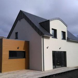 Maison ossature bois en Finistère