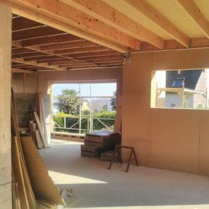 Construction maison ossature bois finistère