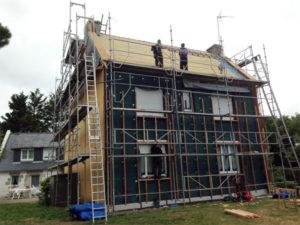 Rénovation maison, Finistère Sud