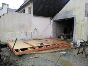 Extension de maison, Quimper